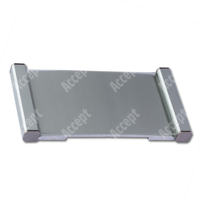 ACCEPT Klassik Inox 103 (dveřní tabulka, stříbrná) - rozměr 50 x 103 mm