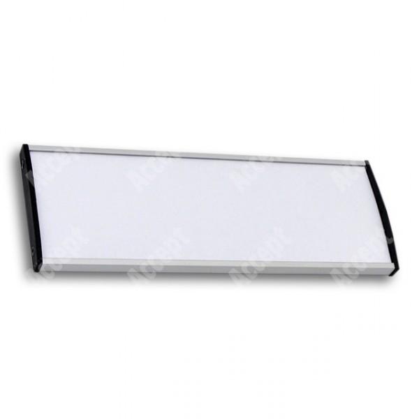 ACCEPT Dveřní tabulka Plato Plus 075, stříbrná - rozměr tabulky 210x75mm
