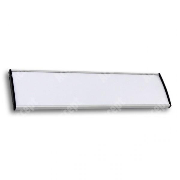 ACCEPT Dveřní tabulka Plato Plus 075, stříbrná - rozměr tabulky 500x75mm
