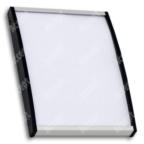 ACCEPT Plato Plus 105, stříbrná - rozměr tabulky 75x105mm