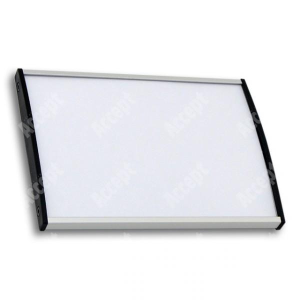 ACCEPT Plato Plus 105, stříbrná - rozměr tabulky 148x105mm (DIN A6)