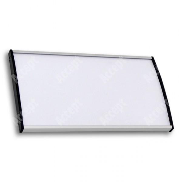 ACCEPT Plato Plus 105, stříbrná - rozměr tabulky 187x105mm