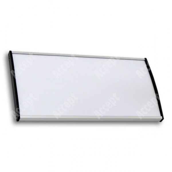 ACCEPT Plato Plus 105, stříbrná - rozměr tabulky 210x105mm