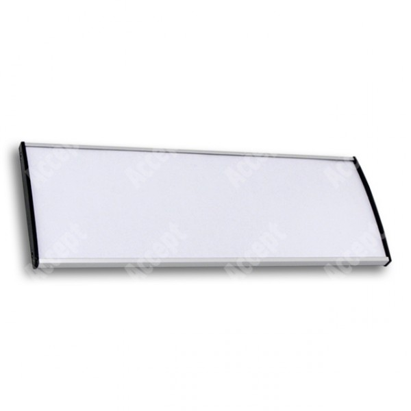 ACCEPT Plato Plus 105, stříbrná - rozměr tabulky 297x105mm