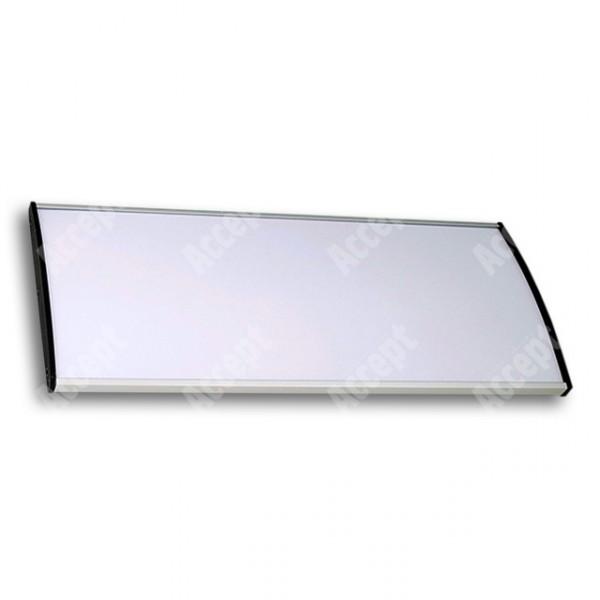 ACCEPT Plato Plus 120, stříbrná - rozměr tabulky 297x120mm