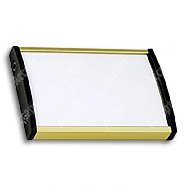 ACCEPT Plato Plus 050, zlatá - rozměr tabulky 75x50mm
