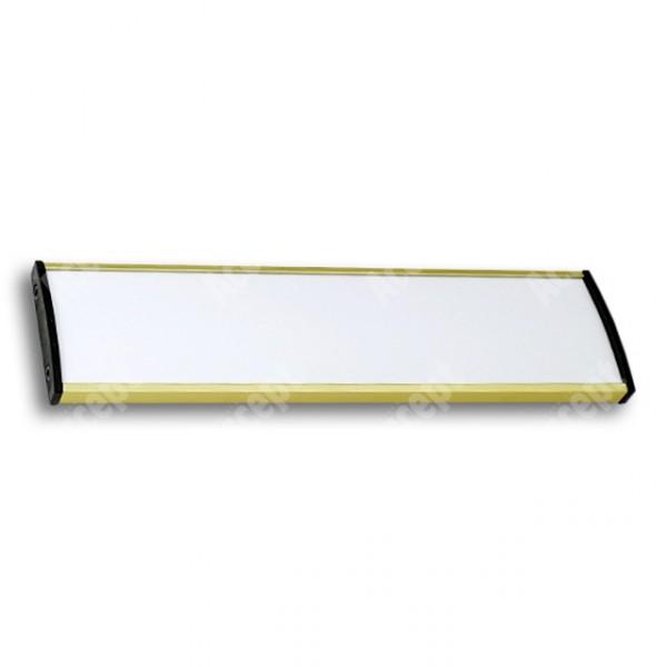ACCEPT Dveřní tabulka Plato Plus 050, zlatá - rozměr tabulky 210x50mm