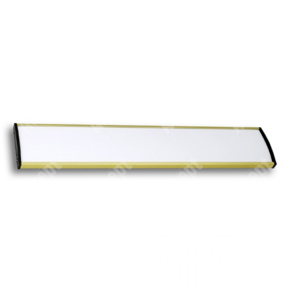 ACCEPT Dveřní tabulka Plato Plus 050, zlatá - rozměr tabulky 500x50mm