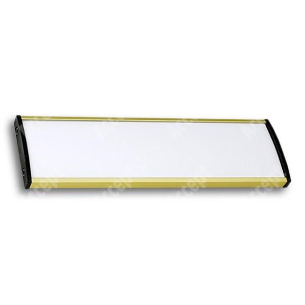 ACCEPT Dveřní tabulka Plato Plus 075, zlatá - rozměr tabulky 187x75mm
