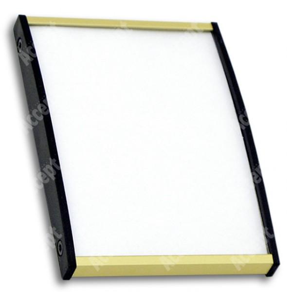 ACCEPT Plato Plus 105, zlatá - rozměr tabulky 75x105mm