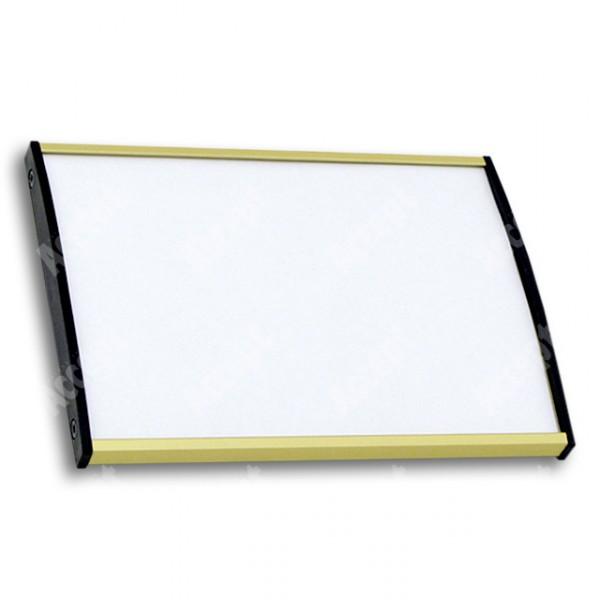 ACCEPT Plato Plus 105, zlatá - rozměr tabulky 148x105mm (DIN A6)
