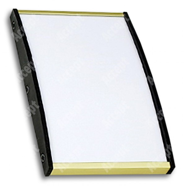 ACCEPT Plato Plus 120, zlatá - rozměr tabulky 75x120mm