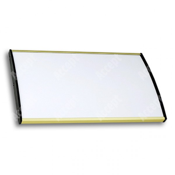ACCEPT Plato Plus 120, zlatá - rozměr tabulky 210x120mm
