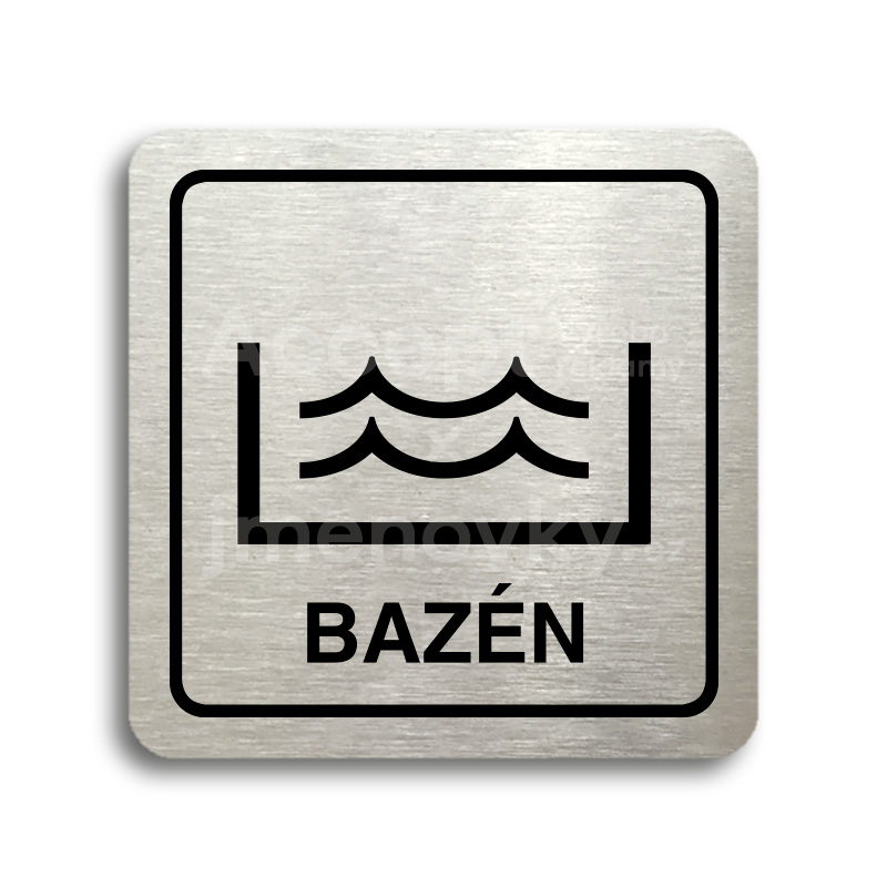 "Piktogram ""bazén"" (80x80mm)"
