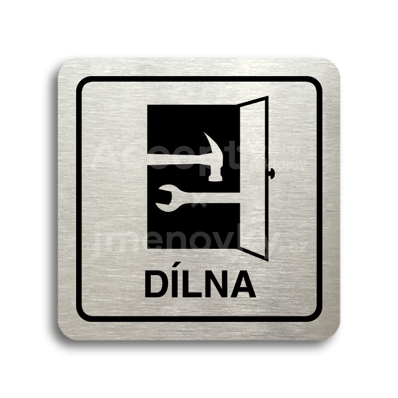 "Piktogram ""dílna"" (80x80mm)"
