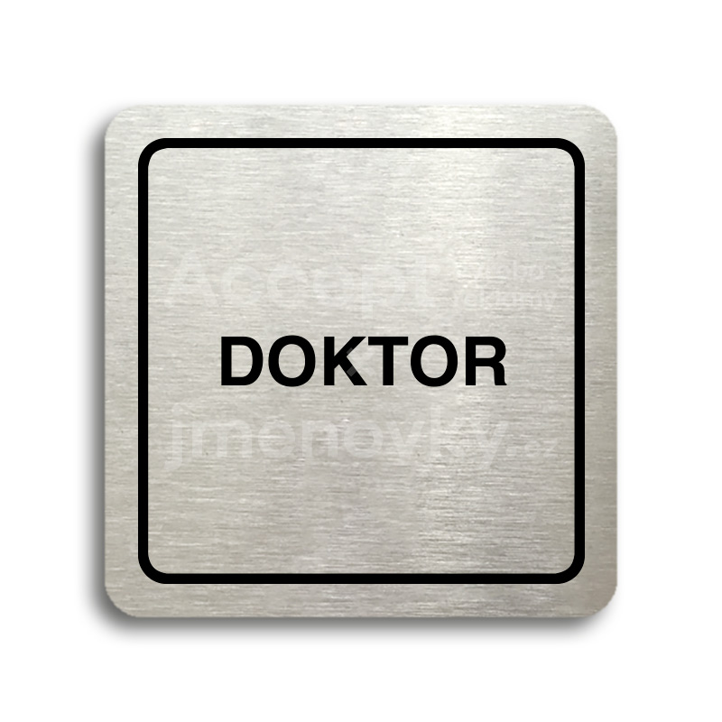 "Piktogram ""doktor"" (80 x 80 mm)"