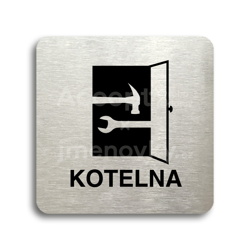 "Piktogram ""kotelna"" (80 x 80 mm)"