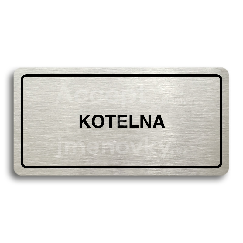 "Piktogram ""KOTELNA"" (160x80mm)"