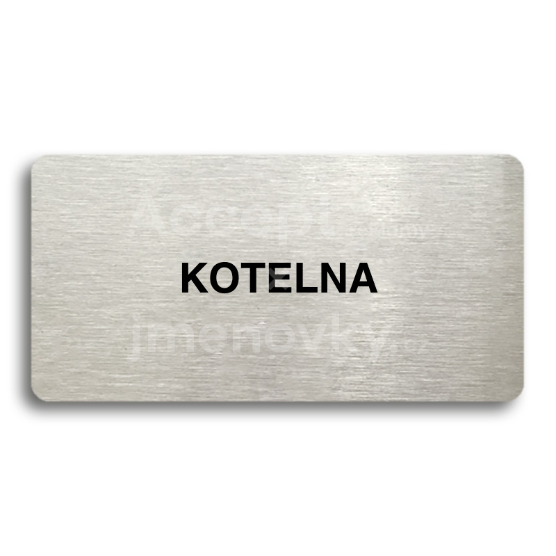 "Piktogram ""KOTELNA"" (160 x 80 mm)"