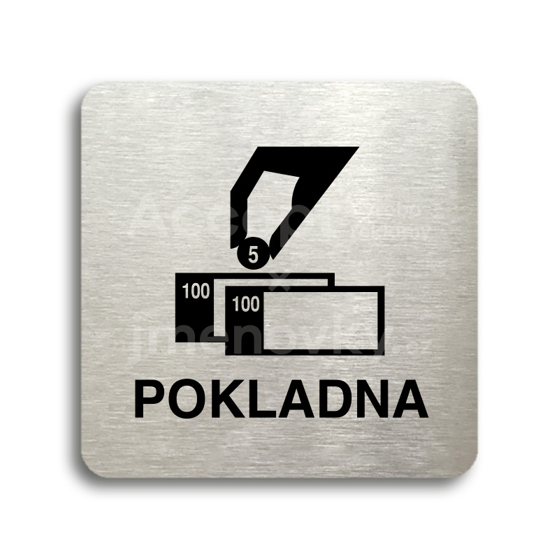 "Piktogram ""pokladna"" (80 x 80 mm)"