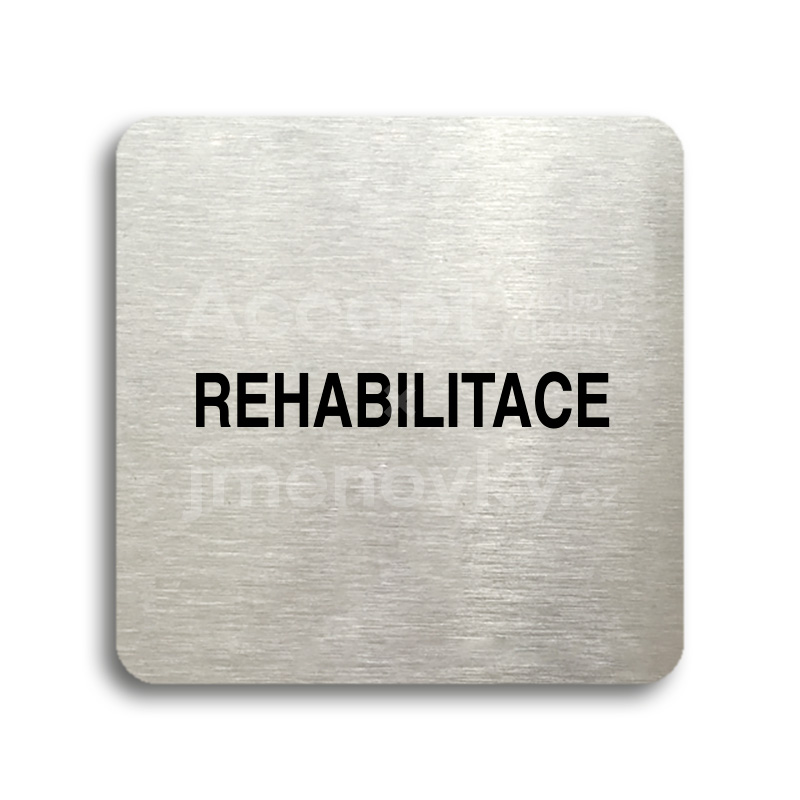 "Piktogram ""rehabilitace"" (80 x 80 mm)"