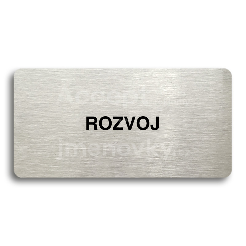 "Piktogram ""ROZVOJ"" (160 x 80 mm)"