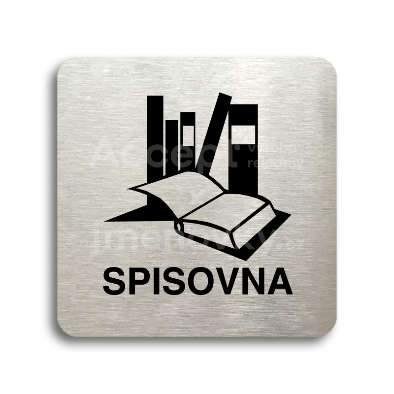 "Piktogram ""spisovna"" (80 x 80 mm)"
