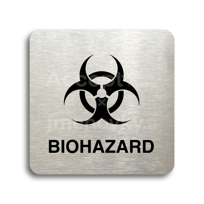"Piktogram ""biohazard II"" (80 x 80 mm)"