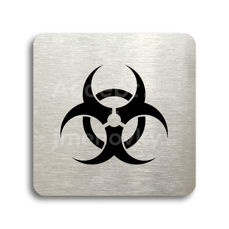 "Piktogram ""biohazard"" (80 x 80 mm)"