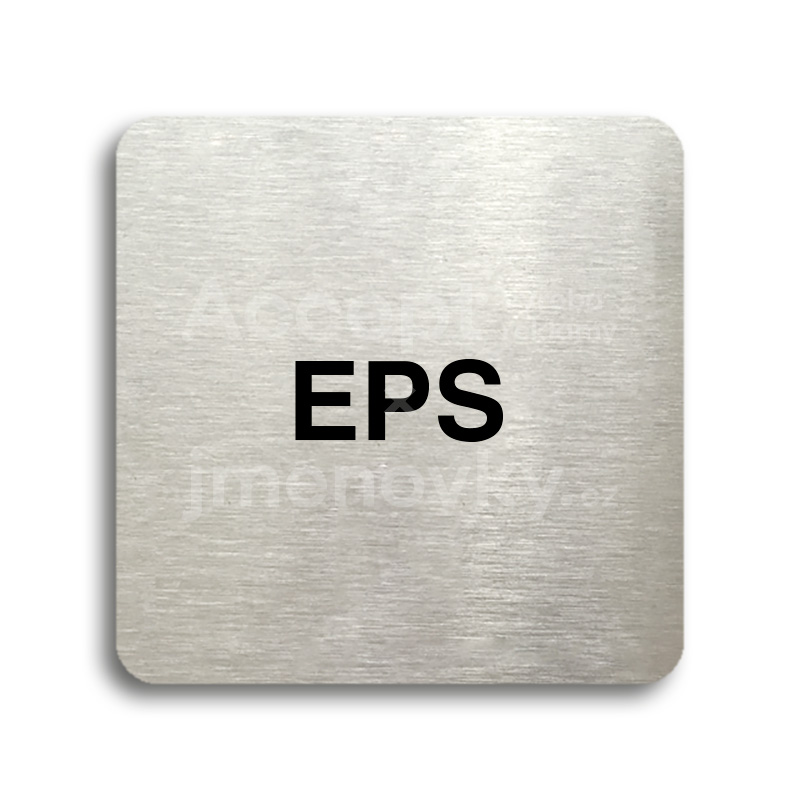 "Piktogram ""EPS"" (80x80mm)"