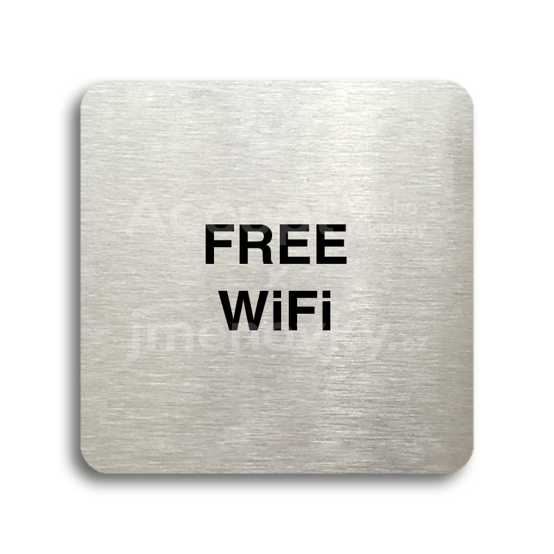 "Piktogram ""free WiFi"" (80x80mm)"