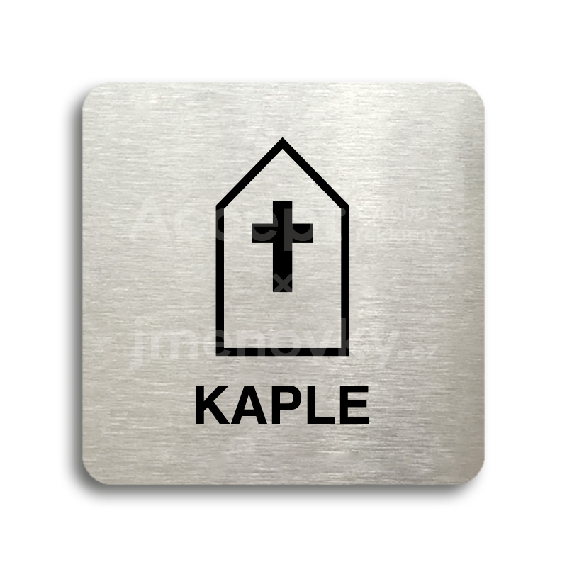 "Piktogram ""kaple"" (80 x 80 mm)"