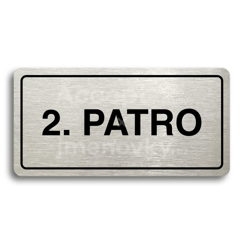 "Piktogram ""2. PATRO"" (160 × 80 mm)"