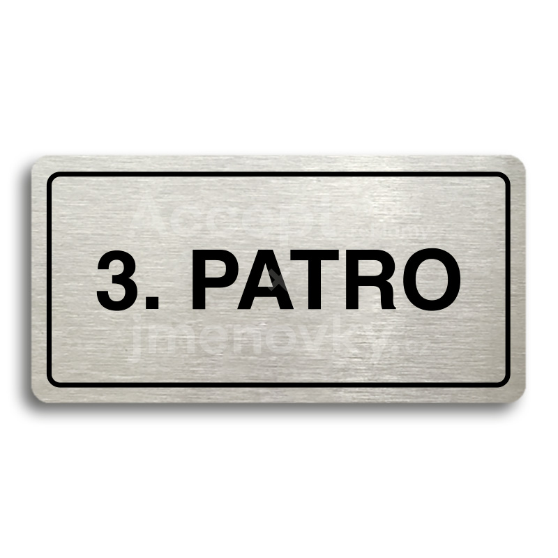 "Piktogram ""3. PATRO"" (160 × 80 mm)"