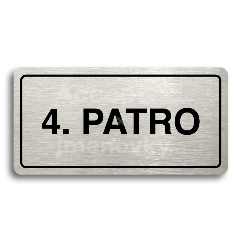 "Piktogram ""4. PATRO"" (160 × 80 mm)"
