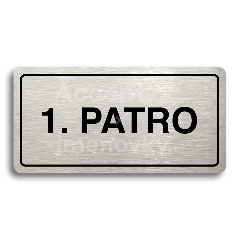 "Piktogram ""1. PATRO"" (160 × 80 mm)"