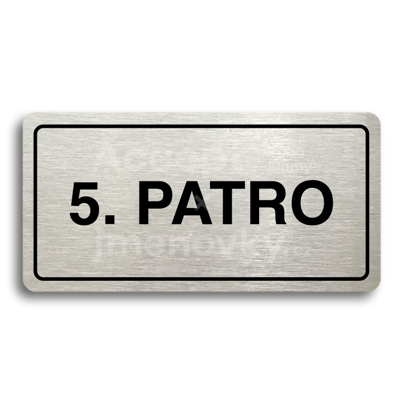"Piktogram ""5. PATRO"" (160 × 80 mm)"