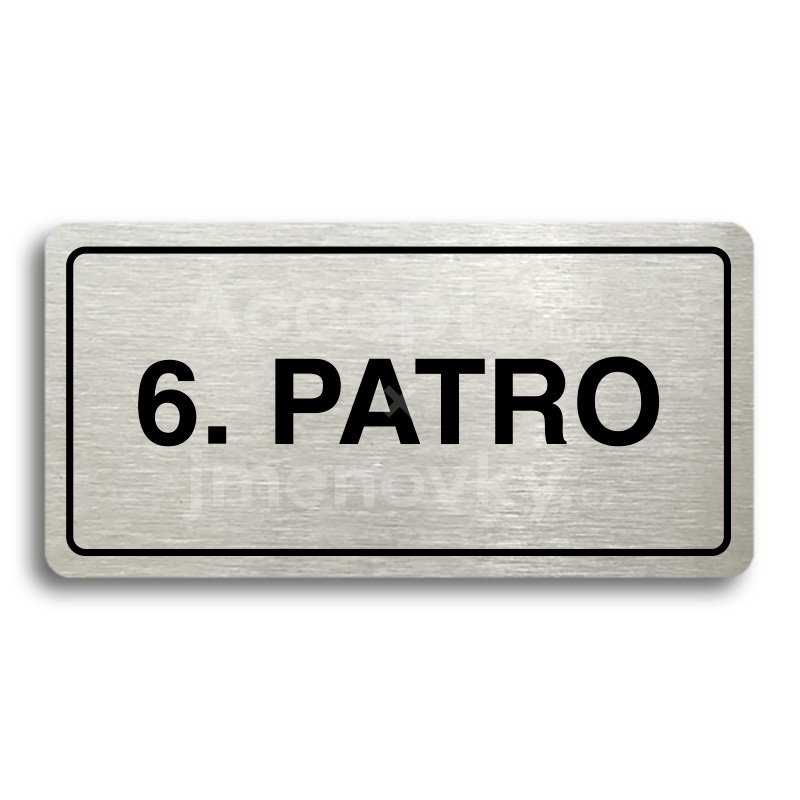 "Piktogram ""6. PATRO"" (160 × 80 mm)"