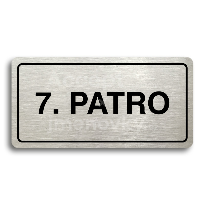 "Piktogram ""7. PATRO"" (160 × 80 mm)"