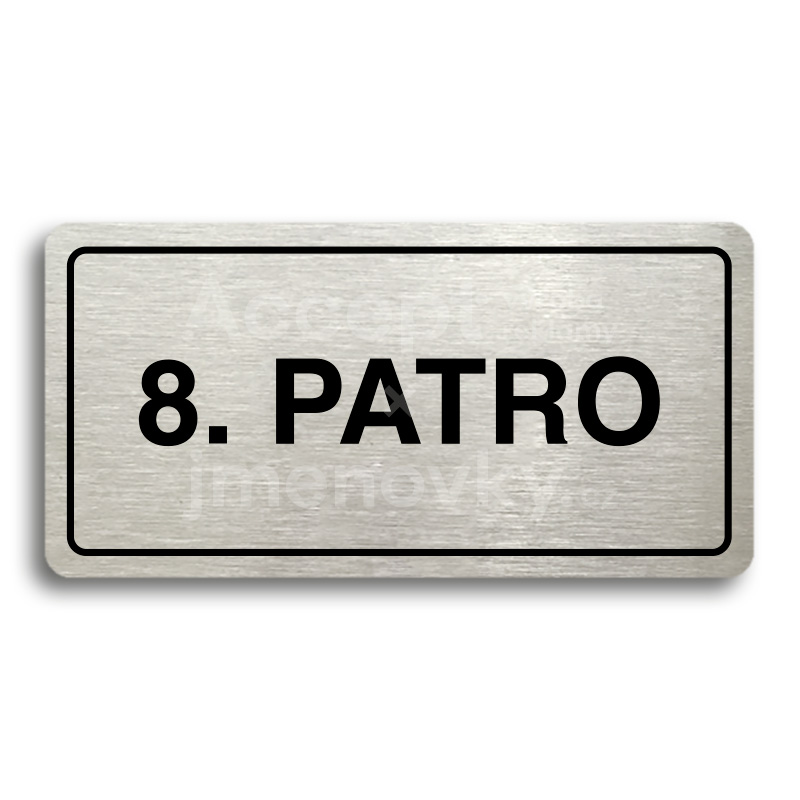 "Piktogram ""8. PATRO"" (160 × 80 mm)"
