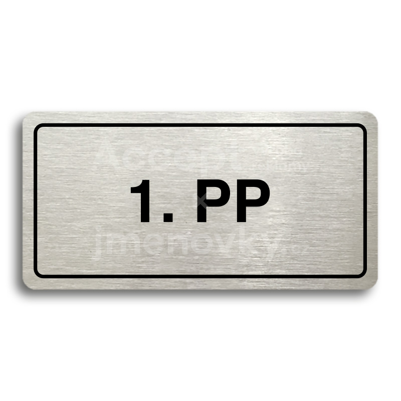 "Piktogram ""1. PP"" (160 × 80 mm)"