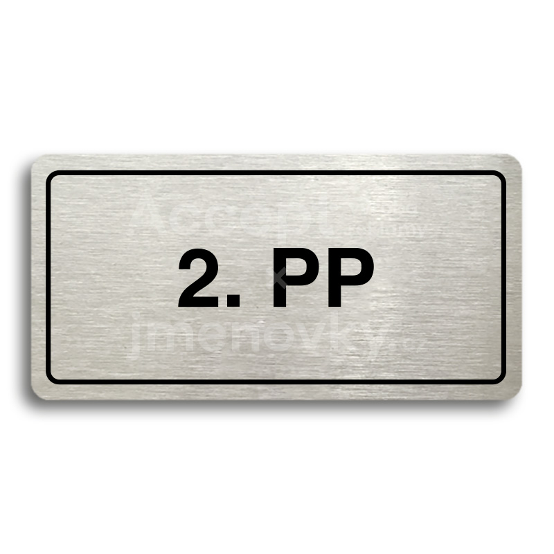 "Piktogram ""2. PP"" (160 × 80 mm)"
