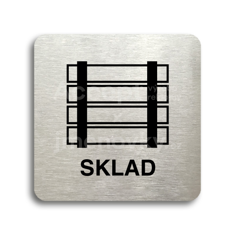 "Piktogram ""sklad"" (80 x 80 mm)"
