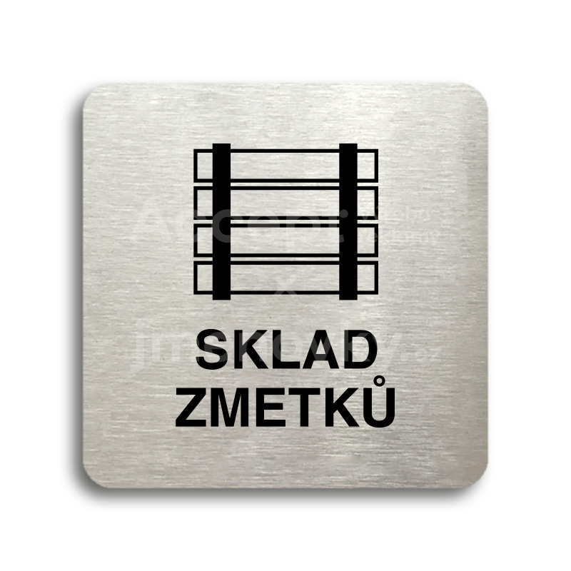 "Piktogram ""sklad zmetků"" (80 x 80 mm)"