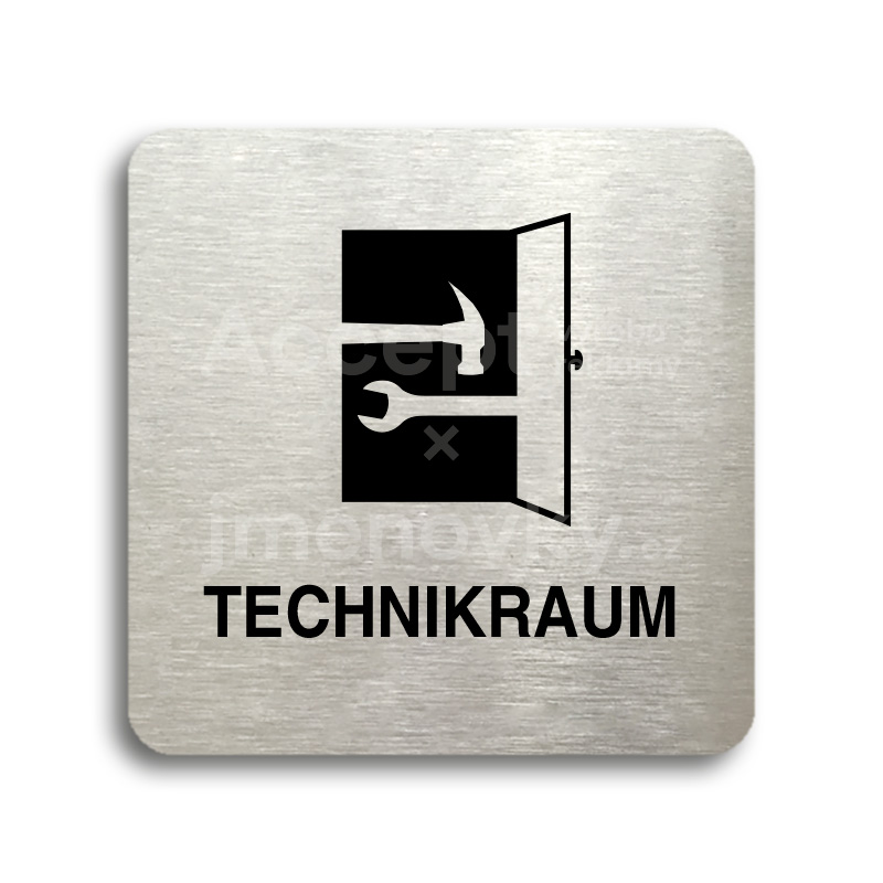 "Piktogram ""technikraum"" (80 x 80 mm)"