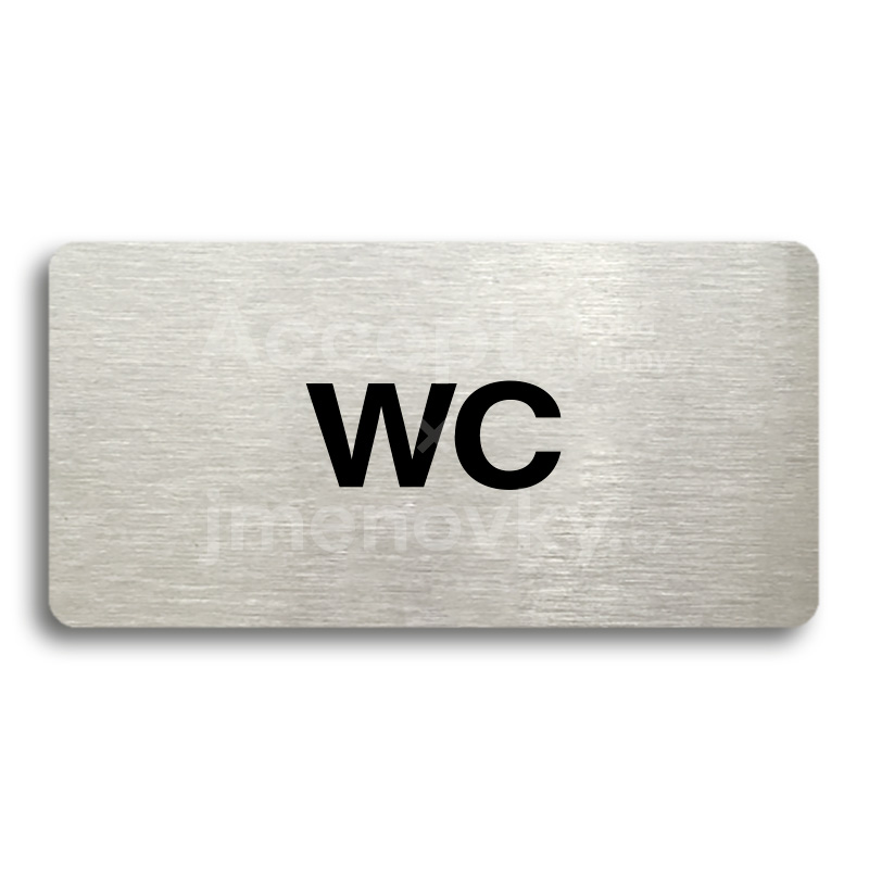 "Piktogram ""WC"" (160 x 80 mm)"