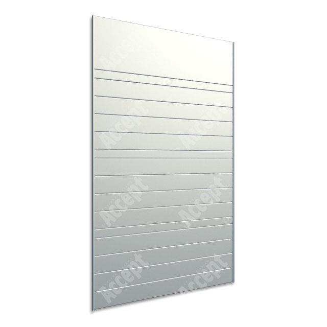 ACCEPT Hlavní orientační tabule ACS 005 (612 x 1024 mm) - stříbrná tabule