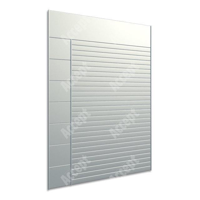 ACCEPT Hlavní orientační tabule ACS 010 (712 x 1031 mm) - stříbrná tabule