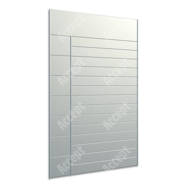 ACCEPT Hlavní orientační tabule ACS 011 (612 x 1031 mm) - stříbrná tabule
