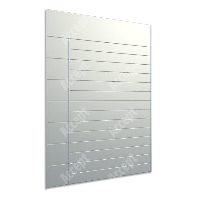 ACCEPT Hlavní orientační tabule ACS 012 (712 x 1031 mm) - stříbrná tabule